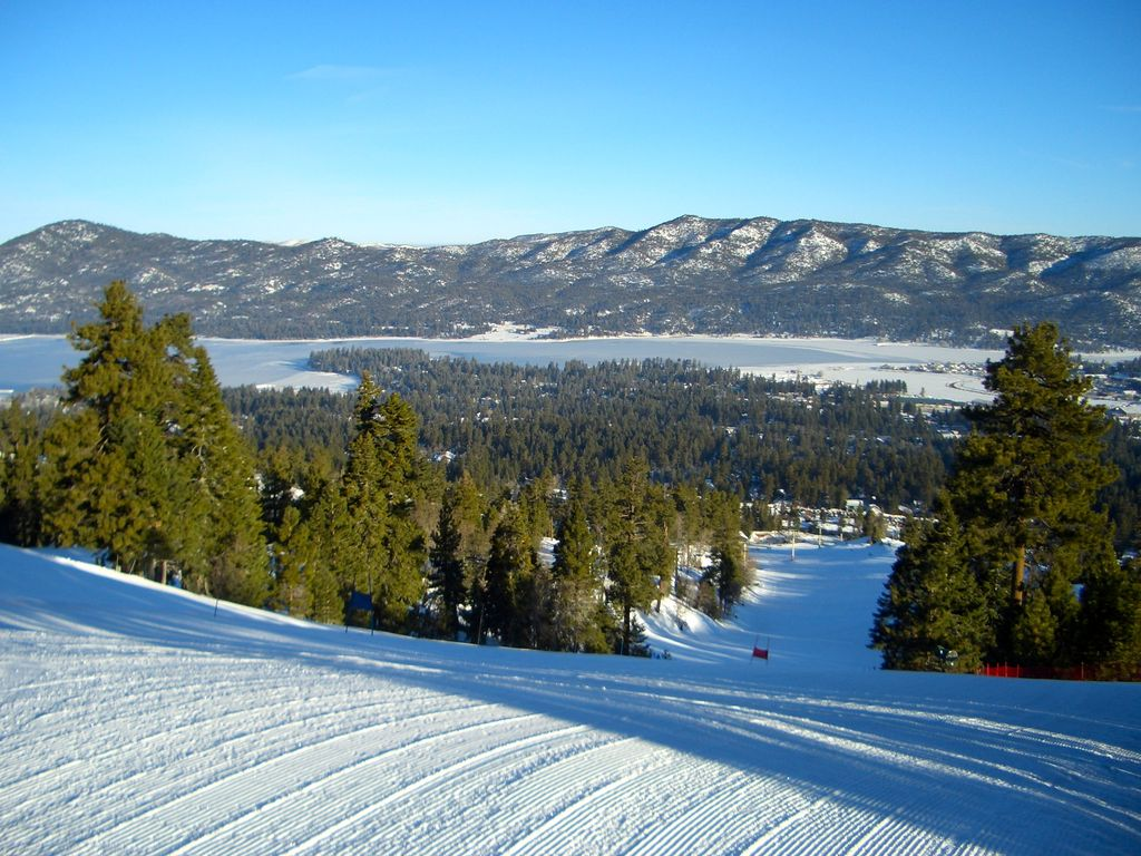 big bear skiing