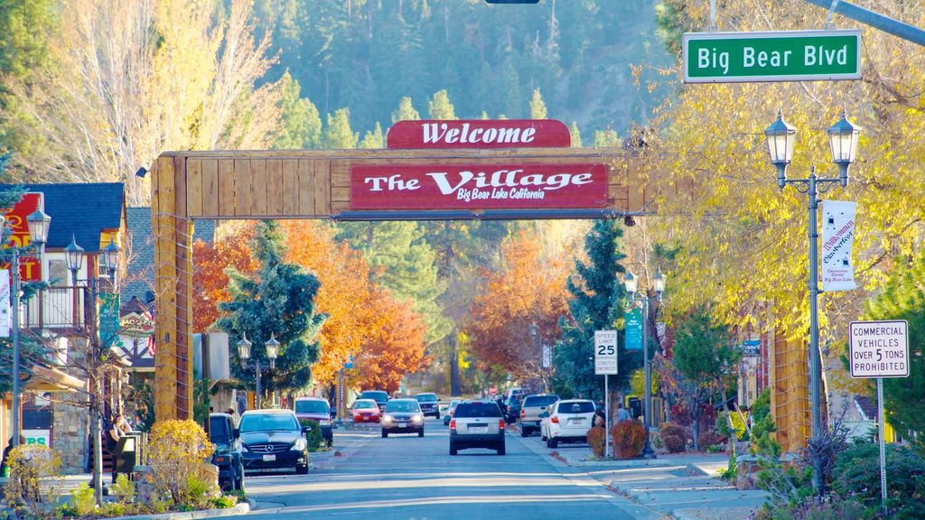big bear village